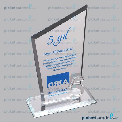 Kristal Plaket PB 3004 r 5